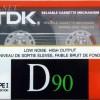 TDK D 90 US 1988