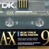 TDK MA-X 90 Eu 1990