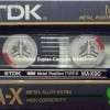 TDK MA-X 60 Jp 1985-86