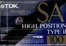 TDK SA 100 Jp 1992-93