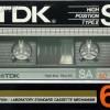 TDK SA 60 US 1984