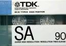 TDK SA 90 US 1988