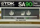 TDK SA 90 US Eu 1982
