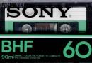 SONY BHF 60 1979-81 Eu