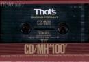 That's CD-MH 100 1990-92 Eu