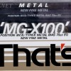 That's MG-X 100 1990-92 Eu