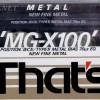 That's MG-X 100 1990-92 Eu