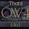 That's OW4 series  46 1989 Jp