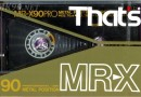 That's MR-X 90 JP 1986