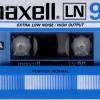 Maxell LN 90 Eu 1982-84 (ver. 2)