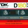 TDK D 180 US Eu 1982