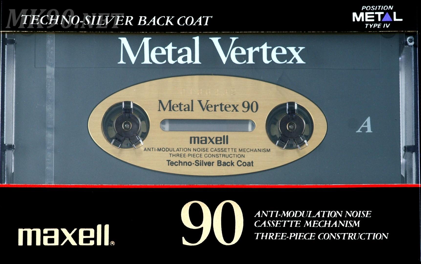 Maxell Metal Vertex 90 1989-90 001