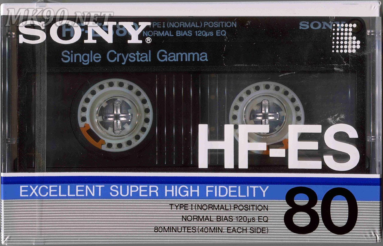 Аудиокассета SONY HF-ES 80