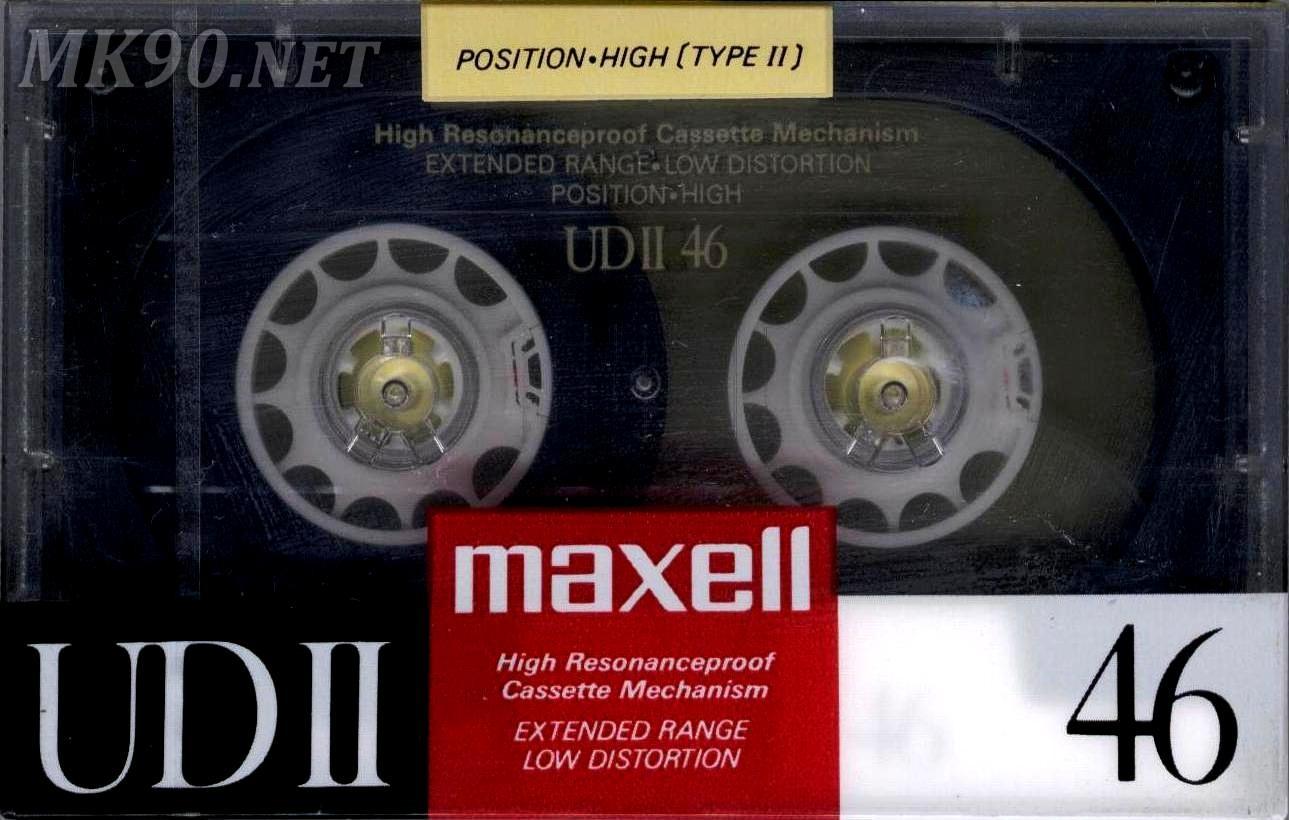 MAXELL UDII 46 Jp 1988-89