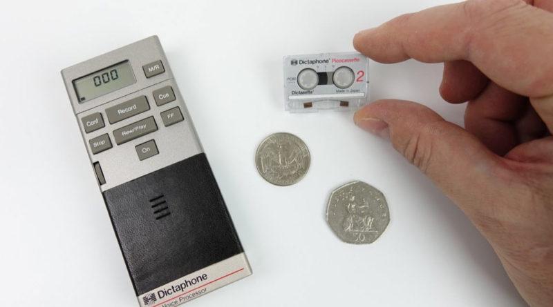 Самые миниатюрные аналоговые кассеты picocassette