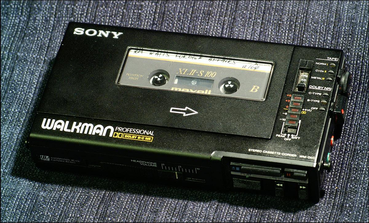 Sony Walkman Pro - один из лучших плееров аудиокассет