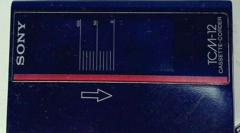 Sony TCM-12