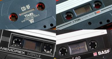 Мини обзор аудиокассет: BASF, TDK, Memorex, That's
