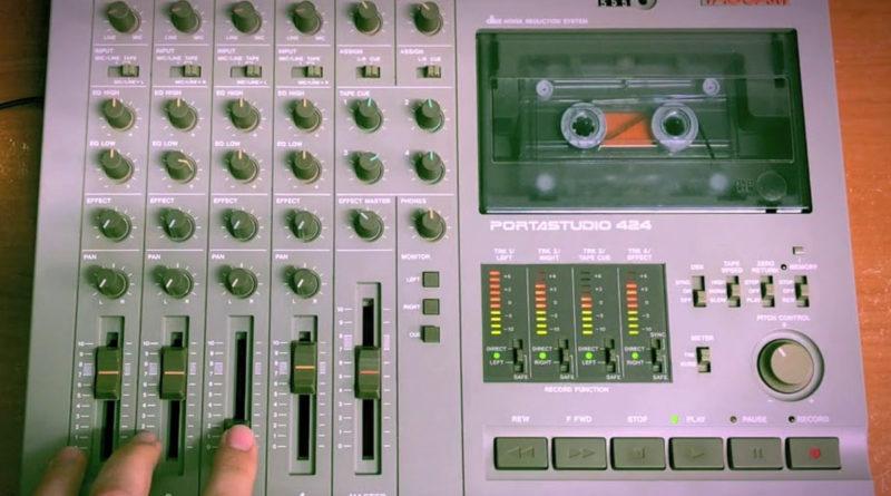 Tascam 424 Portastudio - домашняя студия звукозаписи аналоговой эры