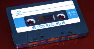 Редкие гибриды аудикассет TDK с записью, 1983