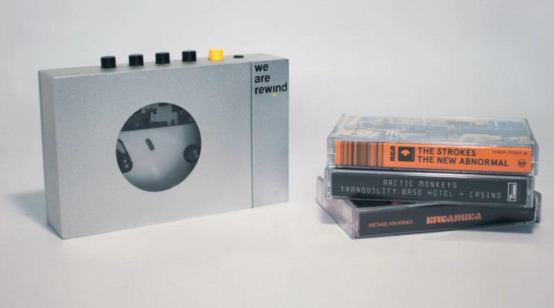 """Плеер аудиокассет We Are Rewind (в переводе означает """"Мы перемотка"""")"""
