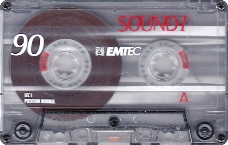 Аудиокассета EMTEC SoundI 90 Eu 1999