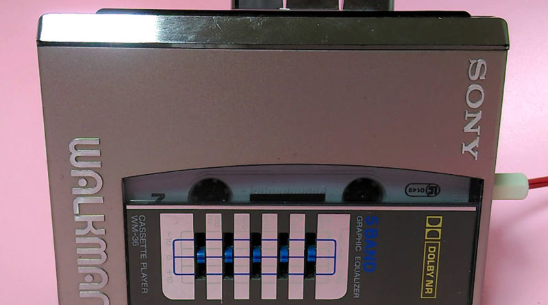 Плеер аудиокассет Sony Walkman WM-36