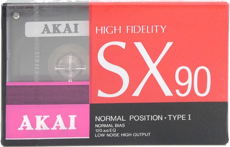 Аудиокассета AKAI SX 90
