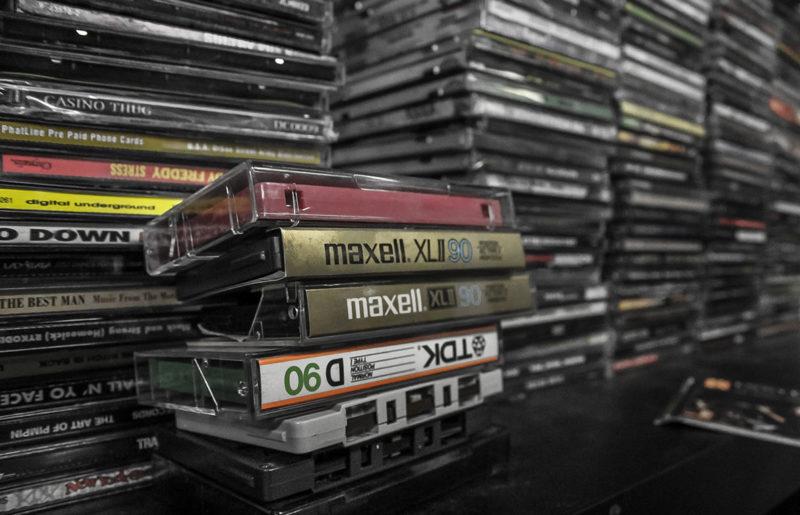 Кассетные ленты интереснее слушать, чем цифровую музыку.