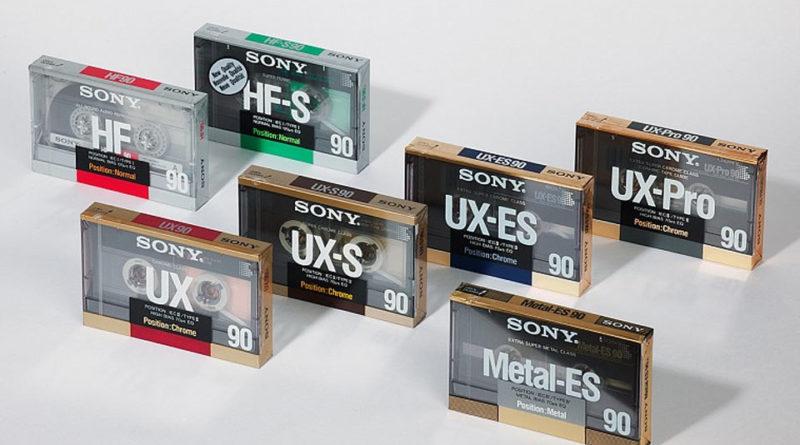 Sony Аудиокассеты с феррумной пленкой типа 1: основы