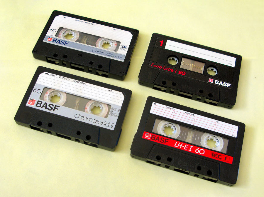 Аудиокассеты Basf