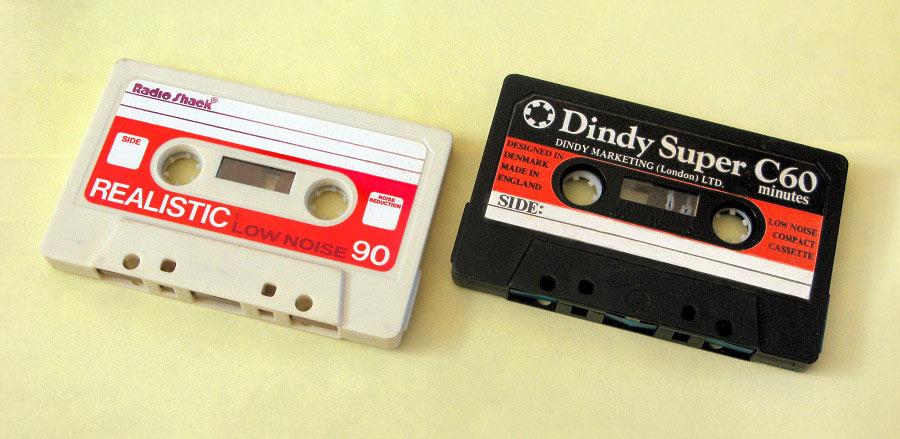 Кассеты Realistic dindy