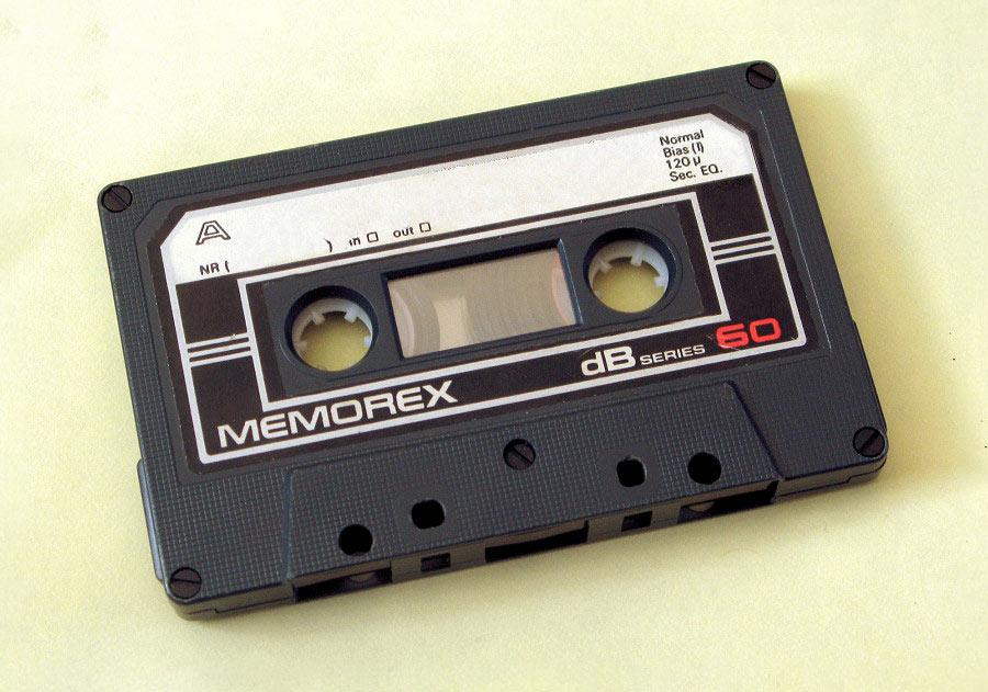 Аудиокассета Memorex