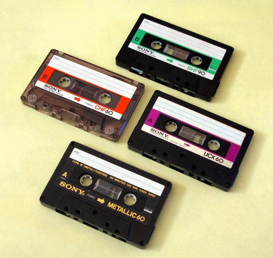 Аудиокассеты Sony