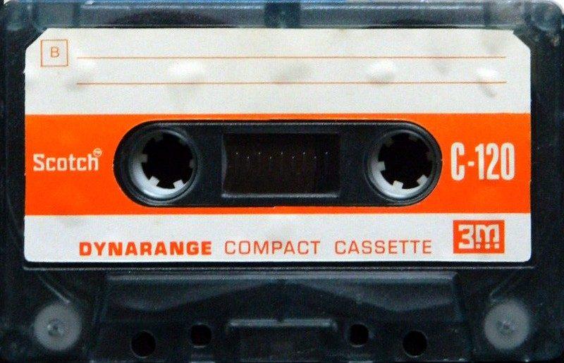 Аудиокассета Scotch Dynarange 120 Us 1971