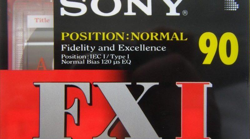 аудиокассета Sony FXI 90 1996-1997 Jp