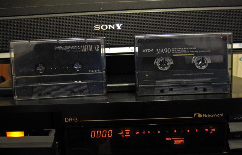 Топ магнитной ленты: кассеты типа IV