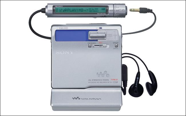 Sony MZN1 Портативный NetMD MiniDisc Walkman.