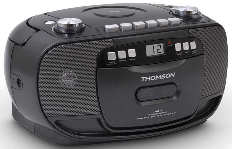 Ностальгия возвращается с кассетной магнитолой Thomson