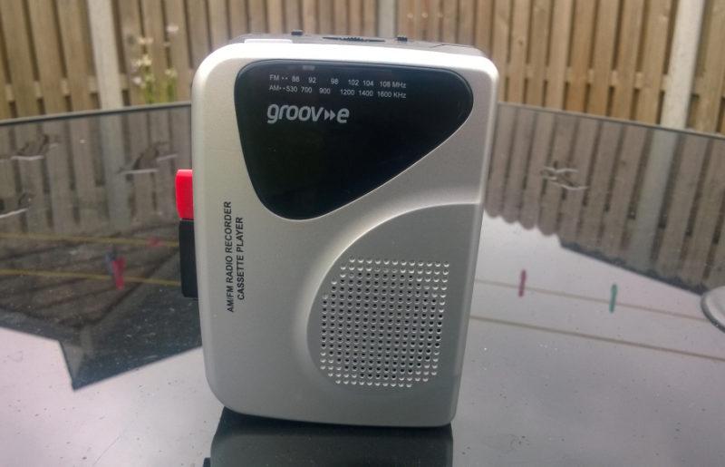 Groov-e персональный кассетный плеер и записывающее устройство с радио