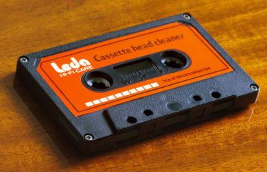 Кассета для очистки магнитной головки магнитофона Leda