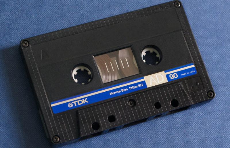 Аудиокассета TDK AD 90 1987 года