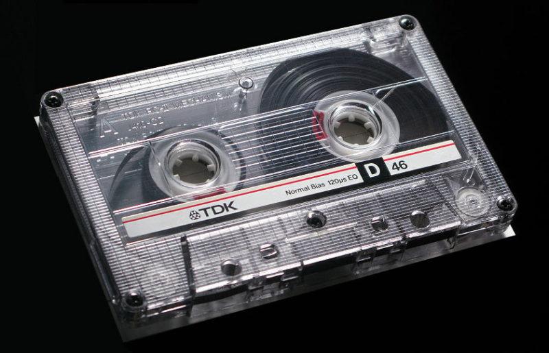 Аудиокассета TDK D 46 1987 года