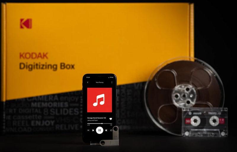 Kodak открывает сервис оцифровки аудиокассет