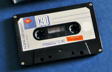 """Малошумящая"" аудиокассета Agfa 1976 года"