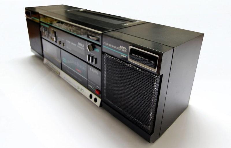 Обзор магнитолы Aiwa CA-80, 1985 год