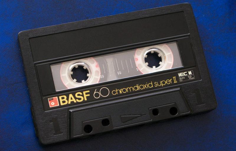 Настоящий хром Basf: Chromdioxid super II 60, 1984