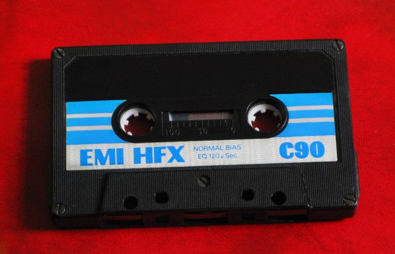 Кассета EMI HFX C90 родом из 70-х