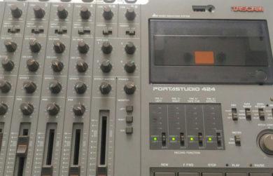 Ещё раз о мультитрековой записи на кассетах и Tascam Portastudio