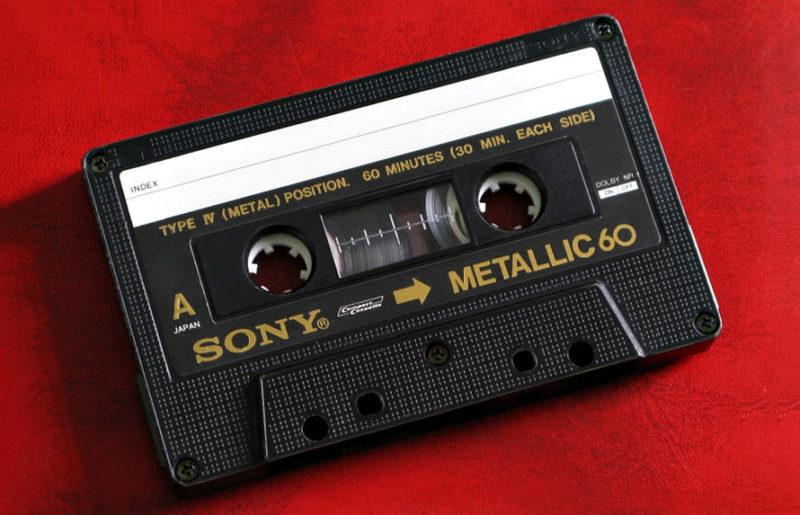 Sony Metallic 60 1983 года: блеск золота кассет